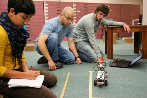 Honors College Students in Robots in Society Seminar